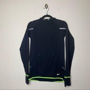 Nike Black Dri Fit Luxe Pullover Running Hoodie